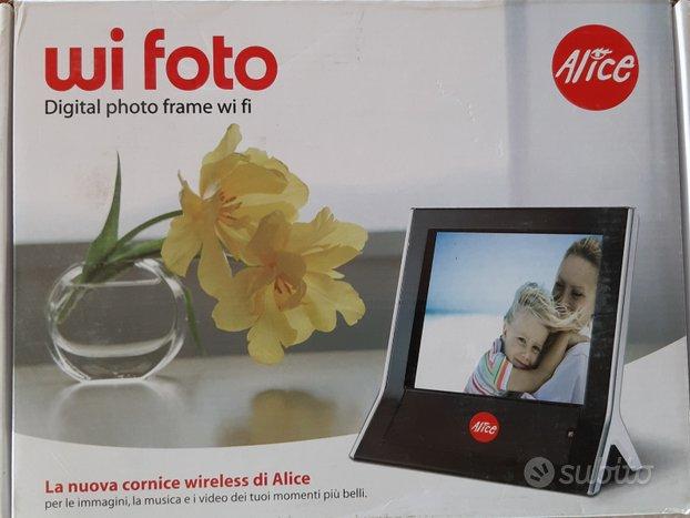 DIGITAL FRAME WiFi WI FOTO Cornice digitale per fo