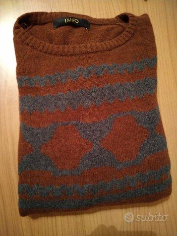 Maglione uomo lana LIU-JO