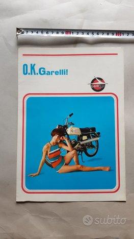 Garelli Produzione moto 1966 Depliant Originale