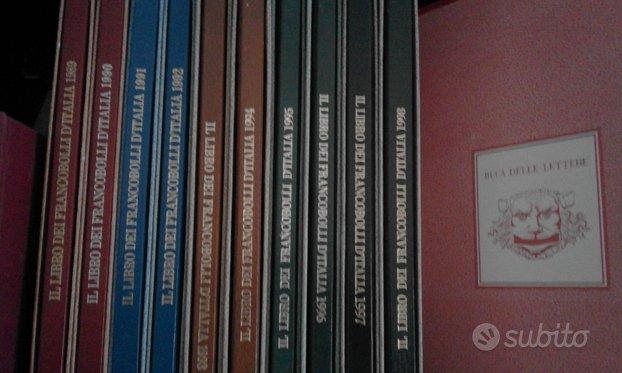 Regalo i Libri delle Poste dal 1989 al 2015