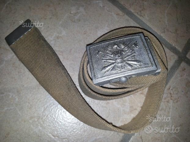 Cintura Militare anni 80