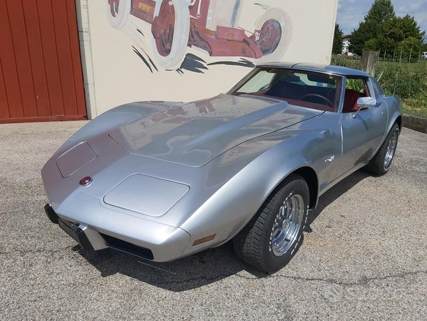 Chevrolet Corvette Stingray con cambio manuale