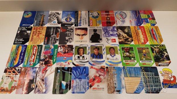 160 Schede telefoniche da collezione