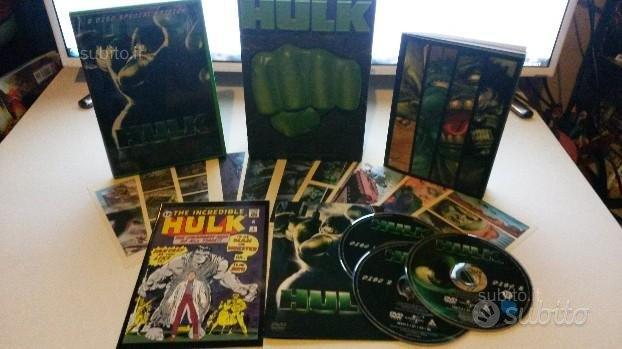 Hulk Film Box Set 3-DVD Edizione Limitata