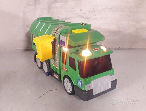 Camion spazzatura Dickie Toys, suoni e movimenti
