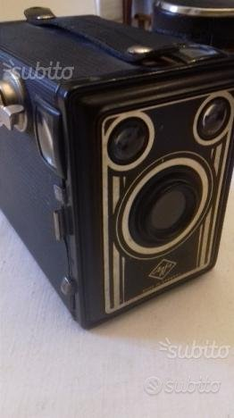 Agfa, vecchia macchina fotografica 6x9