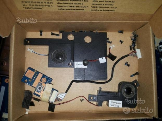 Acer aspire 7736G series notebook pezzi laptop lcd