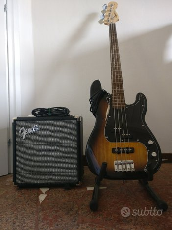 Squier Affinity Precision Bass + Fender Rumble 15