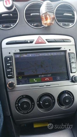 Autoradio navigatore peugeot 408 android wifi