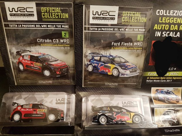 Wrc Official collection 2020