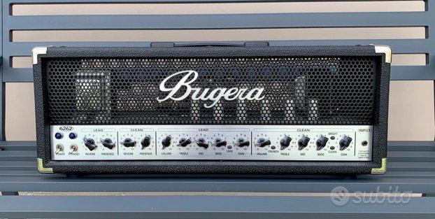 Bugera 6262 testata valvolare per chitarra 120w