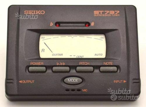 Accordatore SEIKO ST737