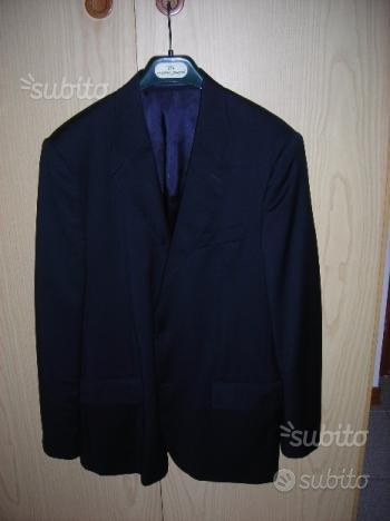 Giacca come NUOVA tg.50 blu scuro in lana