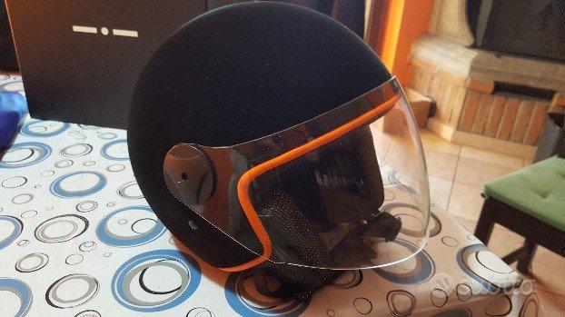 Casco helmet in velluto taglia l nuovo