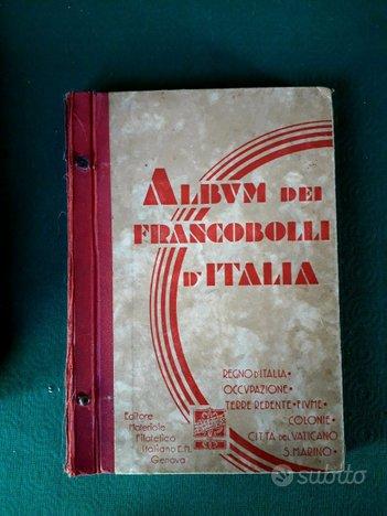 ALBUM dei francobolli d'Italia