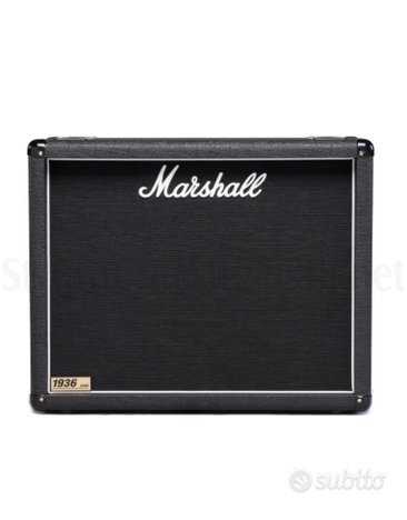 Marshall 2x12 1936 lead Made in England