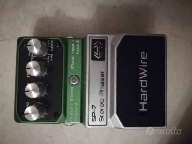 Pedale Phaser sp-7 Hardwire usato 2/3 volte