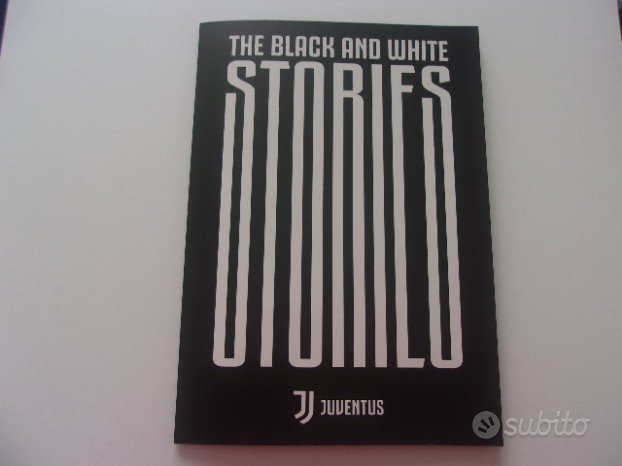 Folder Juventus Black And White Stories 2018 nuovo