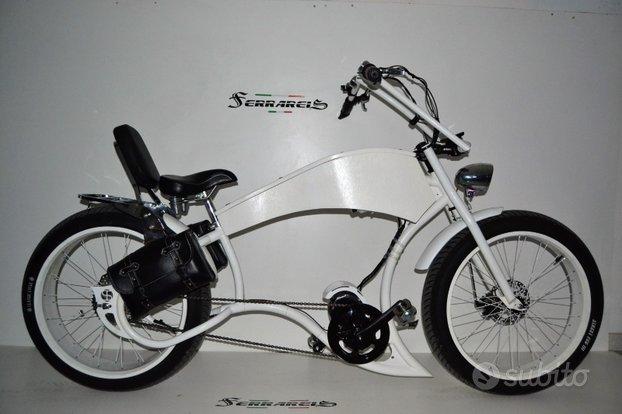 Bici fat bike elettrica bafang