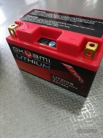 Okyami batteria litio lithium honda litz10s 07354