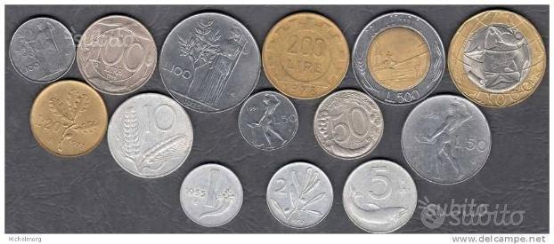 Monete rarissime della lira italiana tutte splend