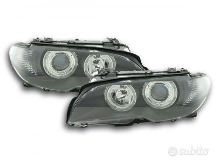faro Angel Eyes BMW serie 3 Coupe tipo E46 anno