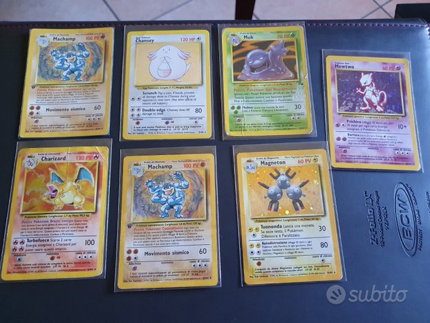 Carte pokemon holo old set base