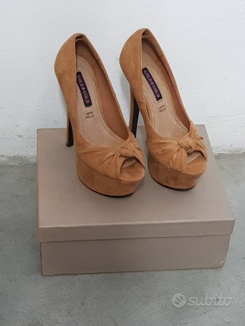 Scarpe Nuove N 36 color cammello