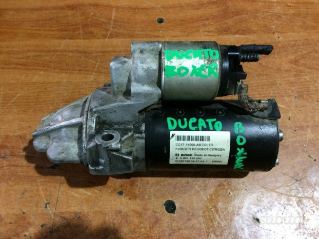 Motorino avviamento fiat ducato 2.2 diesel