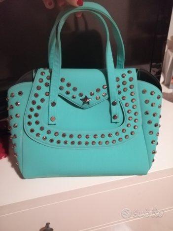 Borsa marca fille de fleur color Tiffany nuova