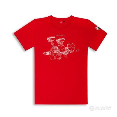 Tshirt Ducati Panigale V4 rossa