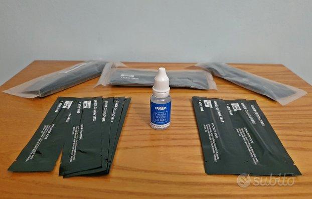 Pulizia Sensore FULL FRAME Liquido 15ml+40 tamponi