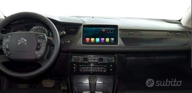 Navigatore autoradio citroen c5 dvd usb camera