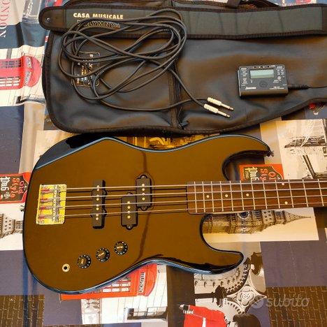 Bass Guitar Benson + Amplificatore Stinger STP 50B