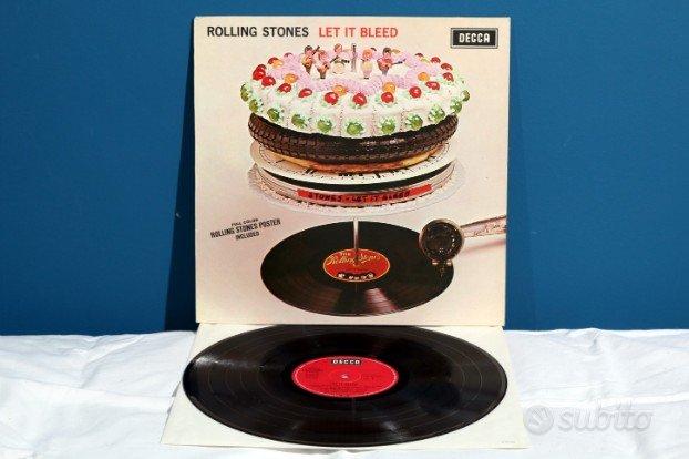 The Rolling Stones LET IT BLEED LP Vinile 1969RaRo,Slide