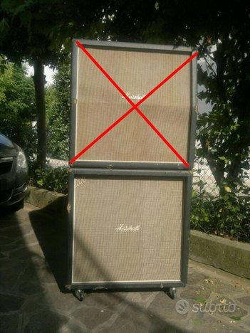 Marshall 4x12 casse handwired Jimi Hendrix stack