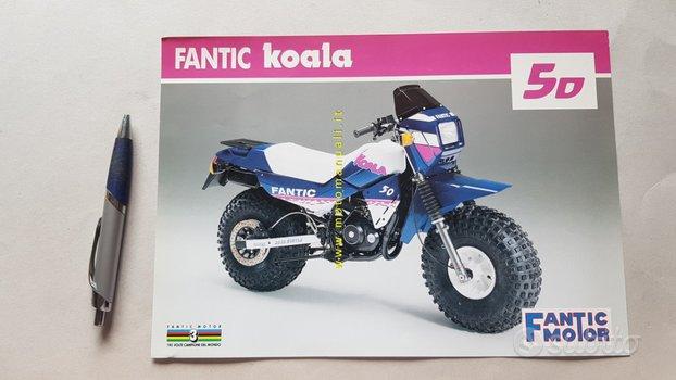 Fantic Motor Koala 50 anni 80 depliant ciclomotore