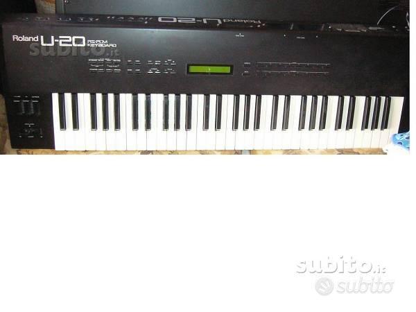 Roland U20 sinth digitale multitimbrico