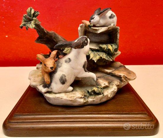 Porcellana Capodimonte figurine Luciano Cazzola