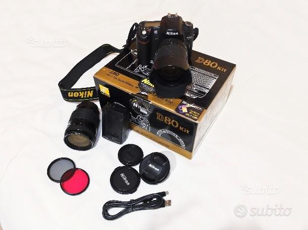 Nikon d80 + 35/70 + 18/135