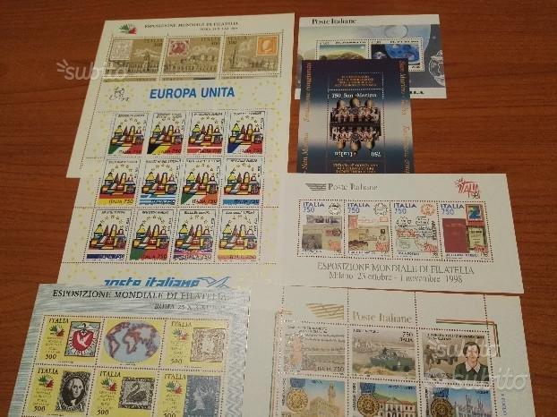 Lotto FOGLIETTI ITALIA / VATICANO