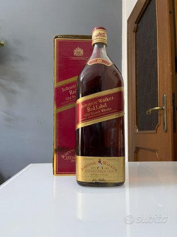 WJohnnie Walker large bottle 4.5 liter Red label