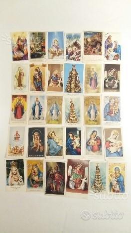 96 immagini sacre e santini anni 70/90
