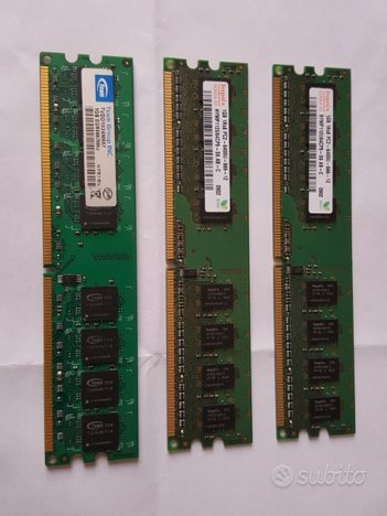 Banchi di memoria RAM per desktop
