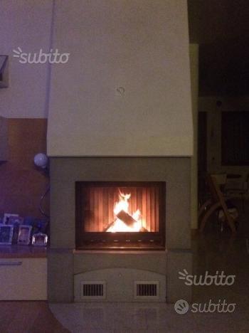 Caminetto PIAZZETTA HT610 con kit di ventilazione
