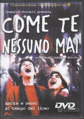 Come te nessuno mai.DVD 1999 Muccino.Amore e sesso