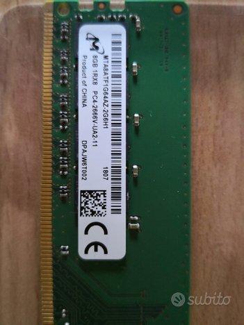 Memoria ddr4 per Pc/Desktop