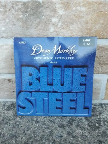 Muta corde chitarra elettr.dean markley blue steel