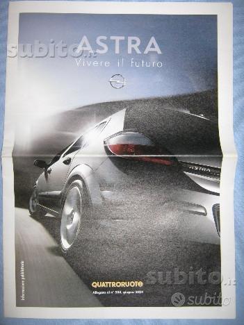 Depliant brochure Opuscolo OPEL ASTRA ZAFIRA
