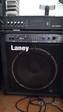 Amplificatore basso combo laney bc120